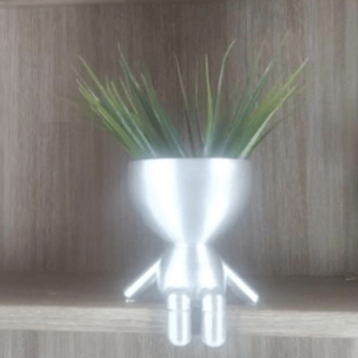 Télécharger fichier imprimante 3D Planter des petites gens assis - Pas de soutien, Ivankahl3D