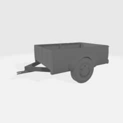 Download free STL file Recycled Pickup Trailer • 3D printable object, BruceNscale