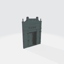 Front_Photo.png Download free STL file Farmers Bank Fascade • 3D printable model, BruceNscale