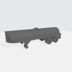 Milk_Tanker.png Download free STL file Milk Tank Trailer • 3D printing model, BruceNscale