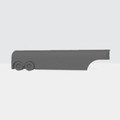 Gasoline_Trailer.png Download free STL file 1950's Round Nose Gasoline Trailer • 3D print object, BruceNscale