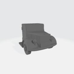 1948_Brockway_X7.57_Y8.16_Z6.83.png Download free STL file 1948 Breakway Semi  - Modular • 3D printable model, BruceNscale