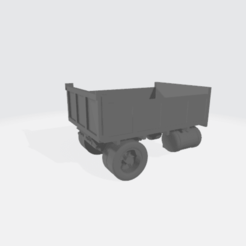 Dump_Truck_Photo.png Download free STL file Dump Truck Body - Modular • 3D printing model, BruceNscale