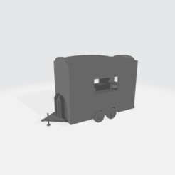 Concession_Trailer.png Download free STL file Concession Trailer • Object to 3D print, BruceNscale