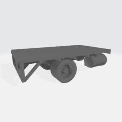 """Descargar diseños 3D gratis Camión de cama plana 14' 6"""" Cuerpo, BruceNscale"""