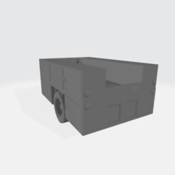 Utility_Photo.png Download free STL file Utility Truck Body - Modular • 3D printing template, BruceNscale