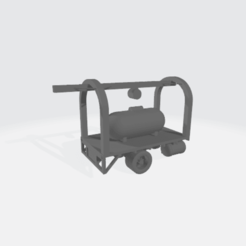 Download free 3D model Propane Tank Delivery Truck, BruceNscale