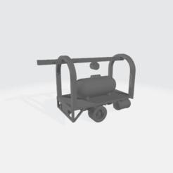 Descargar STL gratis Camión de entrega de tanques de propano, BruceNscale