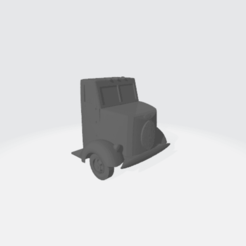 1940_Ford_COE_X6.5_Y8_Z8.33.png Download free STL file 1940 F COE Truck - Modular • 3D printer model, BruceNscale