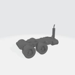 Descargar Modelos 3D para imprimir gratis Cama de Semi Camión Modular - Doble Eje, BruceNscale