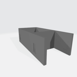 Back_Photo.png Download free STL file Farmers Bank back • 3D print design, BruceNscale