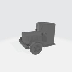 Descargar diseños 3D gratis Camión Cabina Modular de los años 20 - Albert, BruceNscale