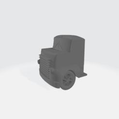 Descargar archivo 3D gratis 1950 COE Truck Cab Modular - Dodgy, BruceNscale