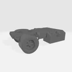 Imprimir en 3D gratis Cuerpo del banco de arena semicolumna - modular, BruceNscale