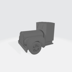 Descargar modelos 3D gratis Cabina de camión modular de los años 20 - Fagoli, BruceNscale