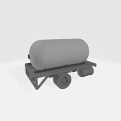 Descargar STL gratis Carrocería de camión cisterna de propano - Modular, BruceNscale