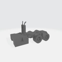 Descargar modelo 3D gratis Cuerpo de eje semi-doble con steptanks - modular, BruceNscale