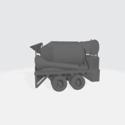 Descargar Modelos 3D para imprimir gratis Carrocería de camión hormigonera de 1940 - Modular, BruceNscale