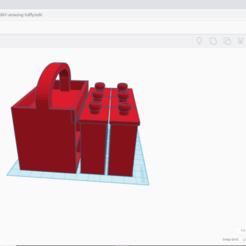 2020-05-20 (1).png Télécharger fichier STL Mini boîte à outils/ porte-pièces imprimable en 3D • Objet pour impression 3D, ginocatanzarite06