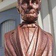 Télécharger fichier STL gratuit Abraham Lincoln Buste • Objet imprimable en 3D, ahokas51