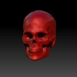 con1.jpg Download STL file Skull Concept • 3D printer template, chazz1981
