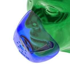 Descargar archivo 3D gratis (versión anterior) COVR3D V1.07 - Máscara optimizada para impresión en 3D FDM, Think3DDD