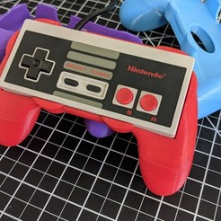 Download free STL file NES Controller Grip • 3D printer object, DonaldSayers
