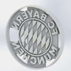 Download STL file Bayern Munchen cookie cutter - Cookie Cutter • Template to 3D print, jjperez2010