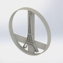 eiffel.JPG Download STL file Eiffel Cookie Cutter • Model to 3D print, jjperez2010