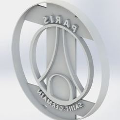Download STL file Paris Saint Germain Cookie Cutter • 3D print template, jjperez2010