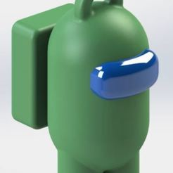 amongus.JPG Télécharger fichier STL Porte-clés Among Us - Porte-clés • Modèle pour imprimante 3D, jjperez2010