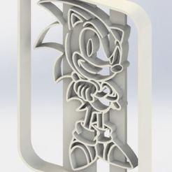 sonic.JPG Download STL file Sonic Cookie Cutter • 3D print design, jjperez2010