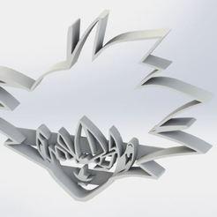 Download STL file Goku cookie cutter - Goku Dragon Ball Z cookie cutter • 3D printer template, jjperez2010