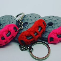 Descargar Modelos 3D para imprimir gratis Llavero de la pinza de freno, Castalia