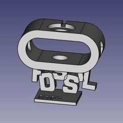 SupportFossilGen4_1.jpeg Download free STL file base for FOSSIL Q Explorist • 3D printer model, pika06