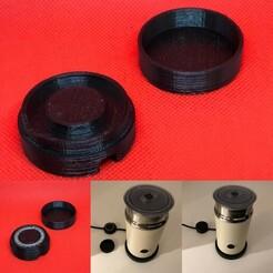 BDD93EFE-0D1B-4BE6-9D23-60936318C53B.JPG Télécharger fichier STL Rangement accessoire Aeroccino • Design pour imprimante 3D, pika06