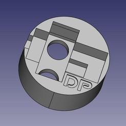 BouchonSondeCuveFuel.jpeg Télécharger fichier STL gratuit Support capteur de niveau de cuve • Objet imprimable en 3D, pika06