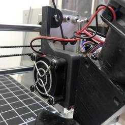IMG_4131.jpg Télécharger fichier STL gratuit Anet A8 Extruder Fan Amovible • Plan pour impression 3D, pika06