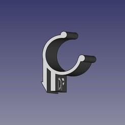SupLampCasqChantier.jpeg Télécharger fichier STL Support lampe de poche • Design pour impression 3D, pika06