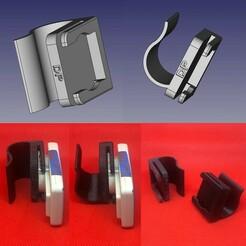 Download STL file Motorway badge clips • 3D printable design, pika06