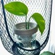 Download free 3D printer templates Mason jar planter, klaudiaJ