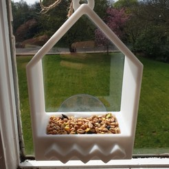 Bird Feeder 1.jpg Download STL file Bird Feeder  • 3D printer object, katieuk95