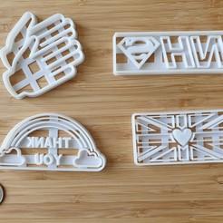20200524_170306.jpg Télécharger fichier STL NHS et Keyworker Support Cookie Cutters - COMPLET • Design à imprimer en 3D, katieuk95