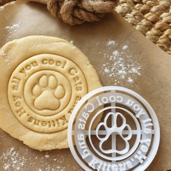 Download 3D printer designs Tiger King Cookie Cutter - Hey all you cool Cats and Kittens, katieuk95