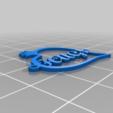 Télécharger plan imprimante 3D gatuit Collier personnalisé, hardram