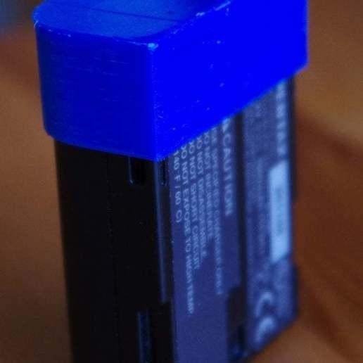 Télécharger STL gratuit Bouchon de batterie Pentax D-Li90, Nils77