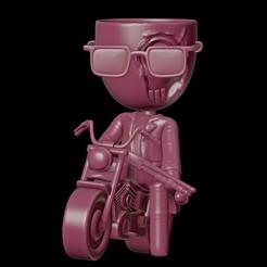 moto.001.JPG Download STL file Robert Plant Terminator T1000 • 3D printing design, lunatirado
