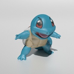 Front_Cover.jpg Download STL file Squirtle • 3D printing object, Murmyav