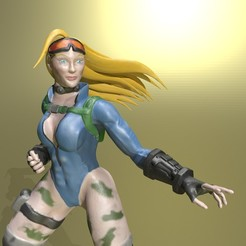 Render.jpg Download STL file Cammy • 3D printable model, Murmyav