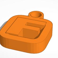 Télécharger modèle 3D gratuit Les Bens construisent un porte-clés F, Mondo